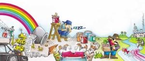 Química e Derivados: Corantes: Ilustração - Martinez.