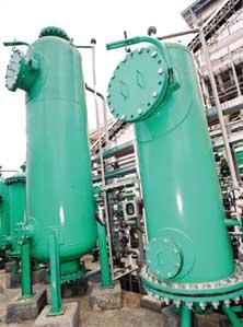 Química e Derivados: Desmineralização: Leitos compactos em usina de Álcool.