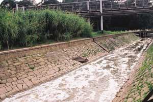 Química e Derivados: Petroquímica: Rio Tamanduateí passa pela Recap, mas vai perder vazão. ©QD Foto - Cuca Jorge