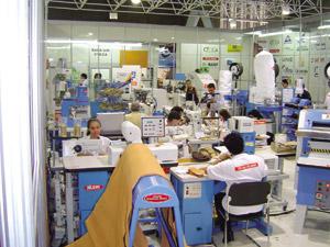 Química e Derivados: Couro: Fábrica de calçados - Brasil é o terceiro produtor mundial. ©QD Foto - Divulgação