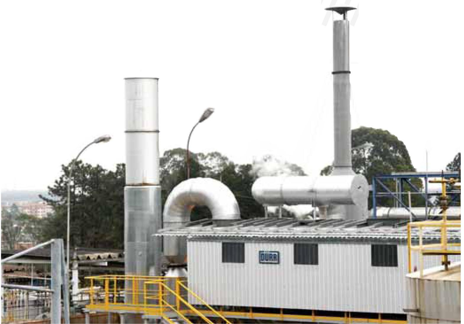 """Química e Derivados,  O oxidante térmico regenerativo na Reichhold: destruição de VOCs, Controle de odor - Fiscalização e 'boa vizinhança"""" incentivam combate ao mau cheiro"""""""