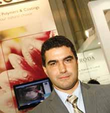 Química e Derivados, Richard Pino, Gerente regional de vendas da área de especialidades industriais da Croda Miami, dos Estados Unidos, ABRAFATI