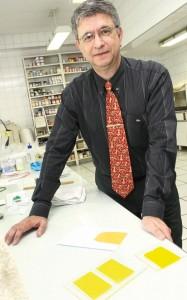 Química e Derivados, João Alfredo Soares, Multicel / James M. Brown, pigmentos orgânicos não suportam mais de 280ºC
