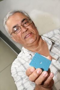 Química e Derivados, Mário Gongorra, Pesquisador do IPT, microrreatores