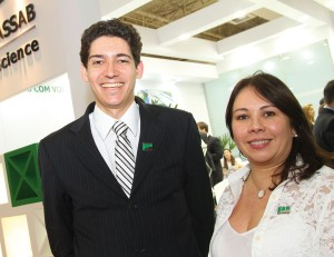 química e derivados, fce cosmetique, fce pharma, m. cassab, Gustavo Levy Dosualdo e Cynthia Barrera