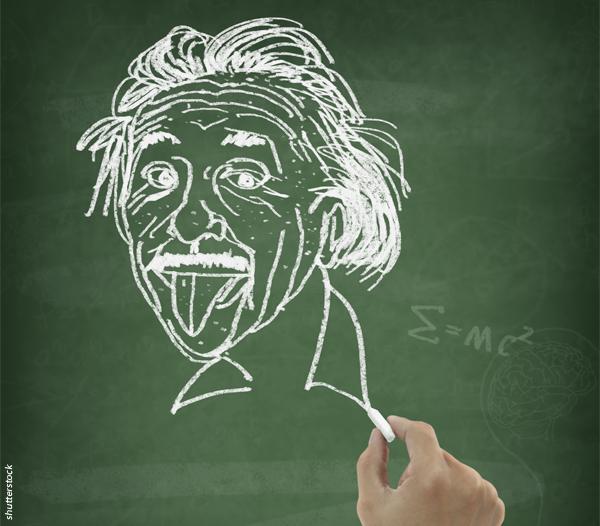 química.com.br, a polêmica de Einsten