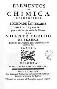 Química e Derivados, Elementos de Chimica, Vicente Coelho