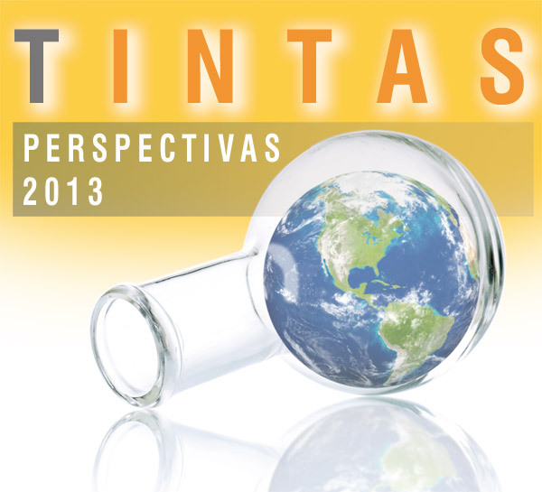 Química e Derivados, Perspectivas 2013 / Tintas, PIB fraco contém avanço das vendas