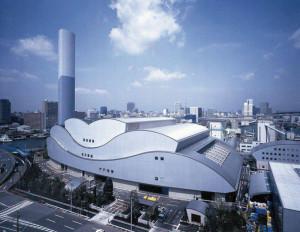 Química e Derivados, Usina de recuperação energética do lixo em Minato, no Japão