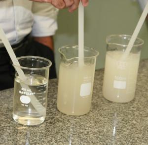 Química e Derivados, Goma carragena tem efeito gelificante e espessante