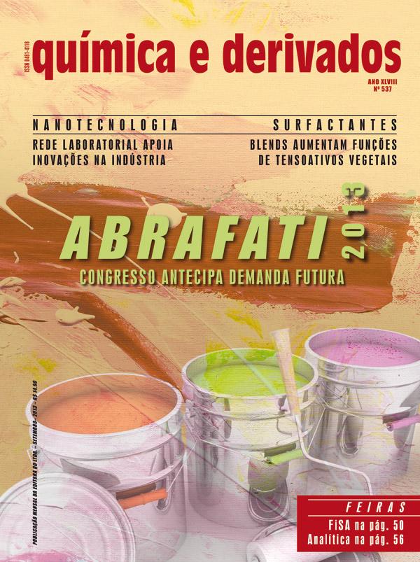 Revista Química e Derivados, XLVIII - n° 537 - Setembro ©QD