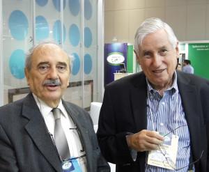 Química e Derivados, Fazenda e Blumenthal (direita) ressaltam a qualidade técnica do congresso